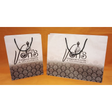 white kraft rope handle paper bag-vans