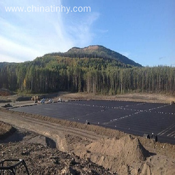 Geomembrane Circular Tanks for Aquaculture