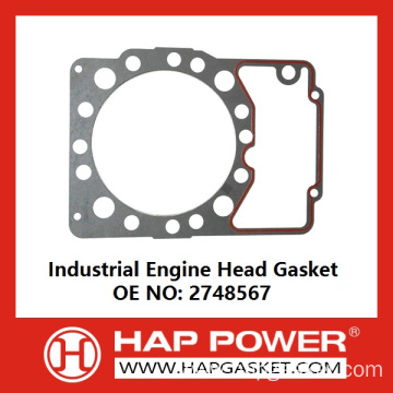 Factory making for China Head Gasket,Metal Head Gasket,Cylinder Head Gasket,Engine Head Gasket,Tractor Head Gasket Manufacturer Industrial Engine Head Gasket 2748567 export to Sri Lanka Importers