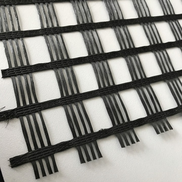 Strengthen Road Surfaces Fiberglass Geogrid