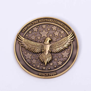 Custom 3D Metal Challenge Coin for Souvenir