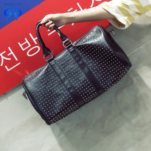Pu rivet handbag travel bag shopping bag