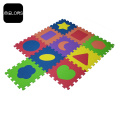 Colorful EVA Foam Shape Kid Play Puzzle Mat