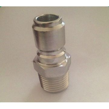 Stainless steel quick coupling  connectors hydraulic
