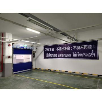Interior High Speed Plastic Rolling up Door