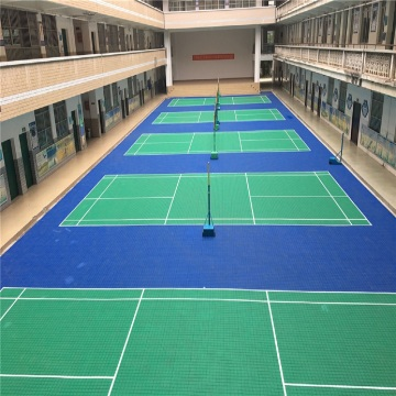 BWF Badminton Court Flooring Enlio Floors