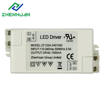 Discount Price Pet Film for Constant Voltage Led Driver 24V 36w 1500ma Led Lighting Driver supply to Iraq Factories