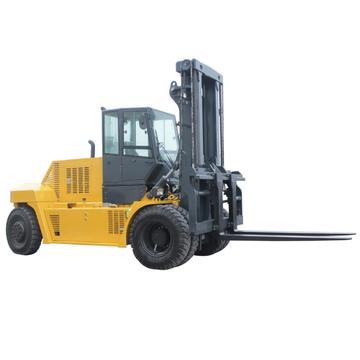 forklift with cabin and heater for cold area