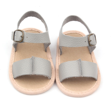 One Color Kids Dress Sandals