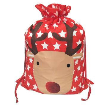 Low Cost for Christmas Sack Printed reindeer christmas sack supply to France Manufacturers