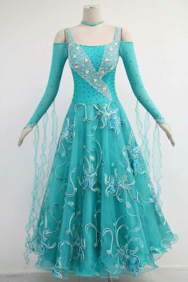 Green Ballroom Dresses for Sale
