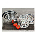 Stainless Steel Kitchen Utensils Lavabo with Lid