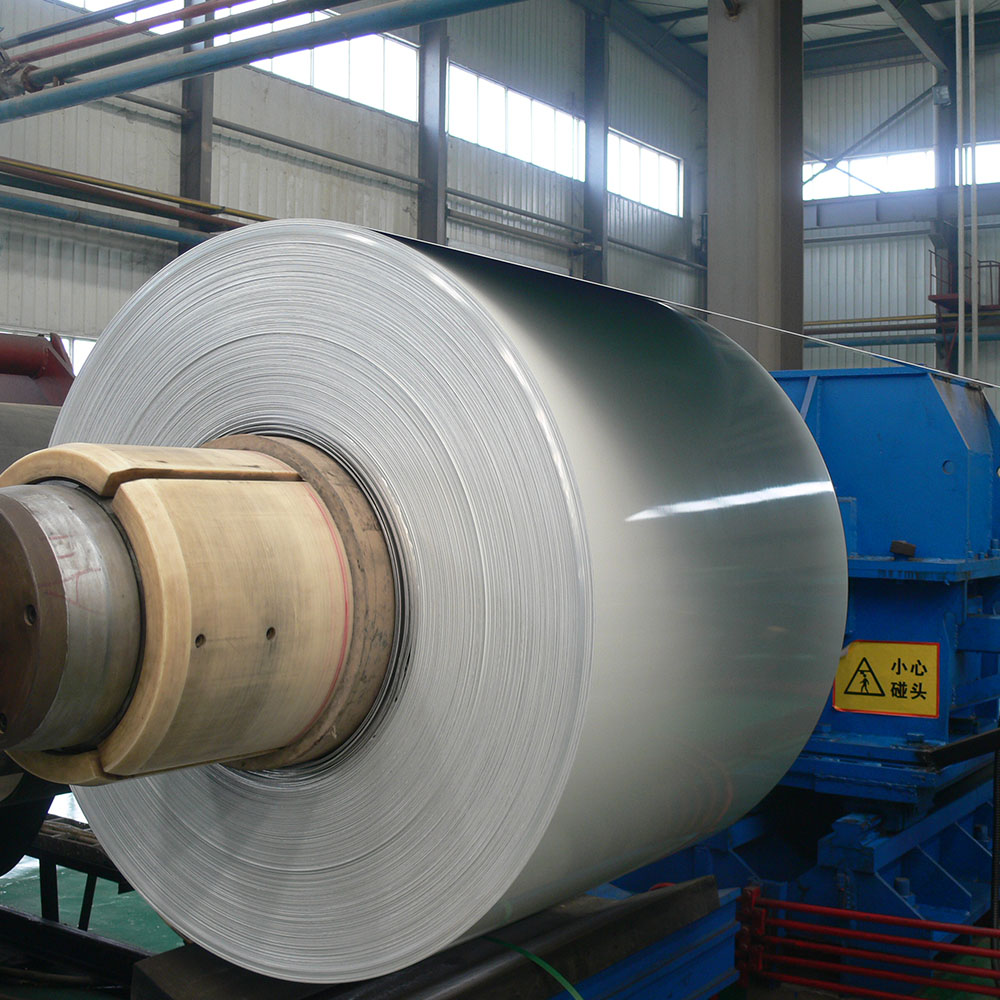 0.25-2.5 Thickness Hot Rolled Color Aluminum Coil