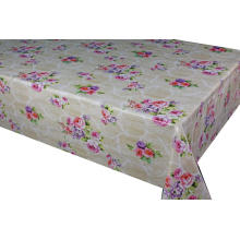 Elegant Tablecloth with Non woven backing Madeira