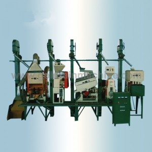20-30 Tons rice mill machinery