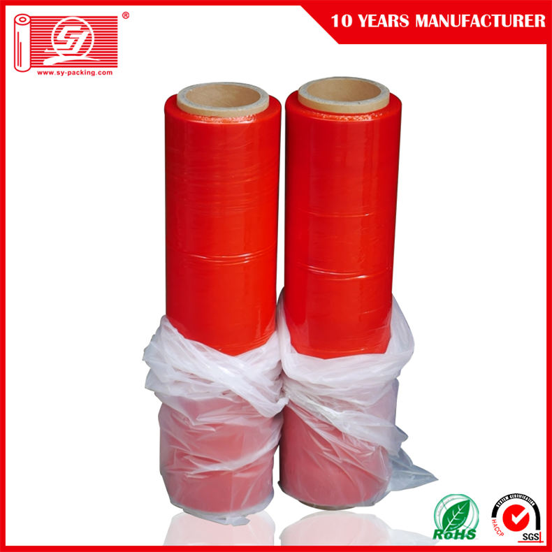 Colour LDPE Wrap Stretch Film with High Puncture