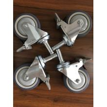 100mm scaffolding caster with double brake