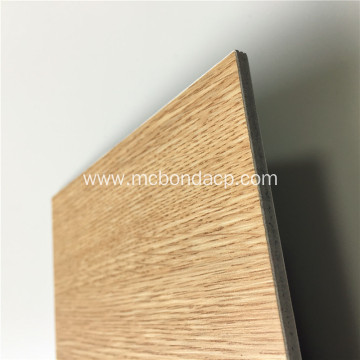 Aluminum Composite Panel Wood Cladding Construction Panels