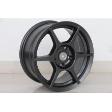 6spokes Matt Black 15inch wheel rim Replica