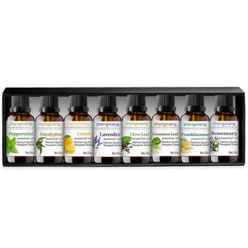 100% Pure Essential Oil Gift Set 8/10ml