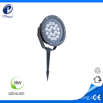 Solid stainless steel 18W led outdoor spike light
