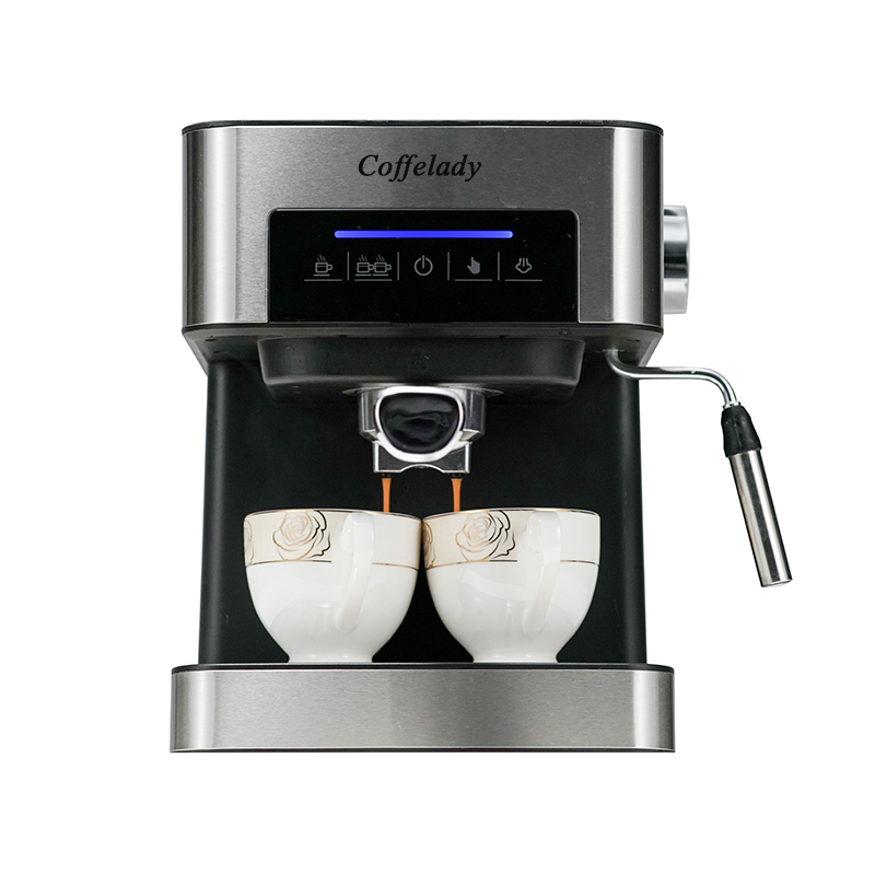 Espresso Coffee Maker with milk frothing