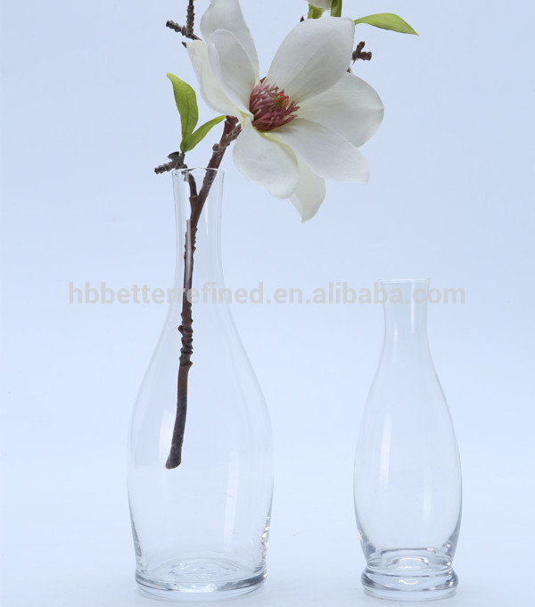 Br 51912clear Color Simple Glass Vase