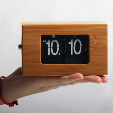 Mini Flip Clocks for Table Decor