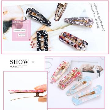 Acrylic Hair Clips for Women Hair Accessories