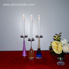 Refined Ordinary Chime Household White Candles