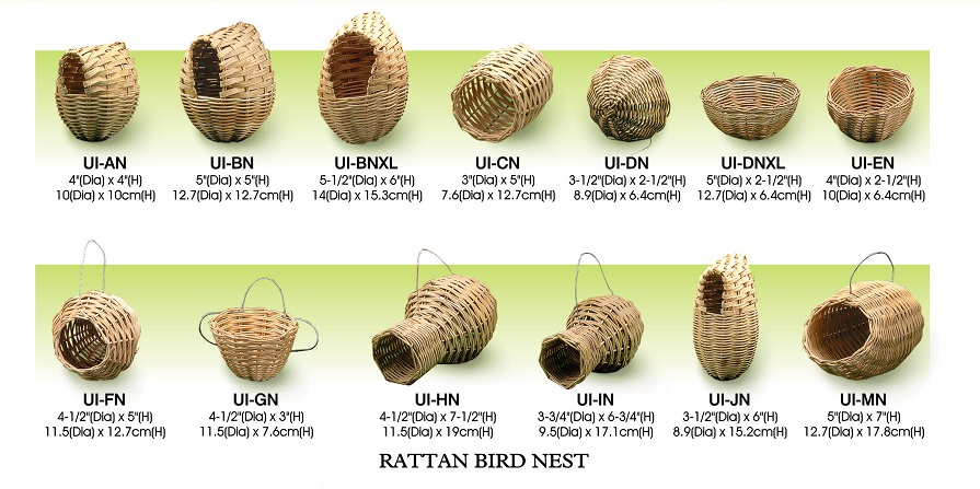 Rattan Bird Nest All