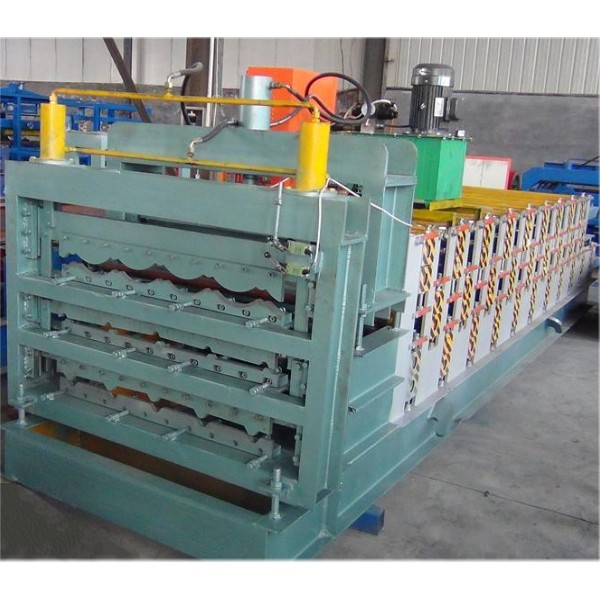 Three Deck Roofing Sheet Forming Machine