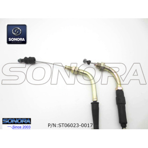 BT49QT-10 BAOTIAN Throttle cable assy.