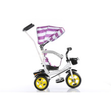 Durable Baby Tricycle with Brake and Shadow