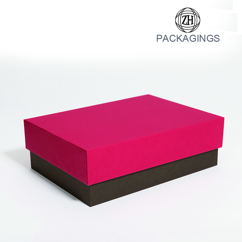Customized lid and base packaging hard board box