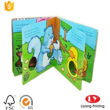 hardcover educational children book printing
