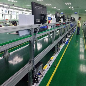 Customized Table Top Belt Conveyor  Assembly Line