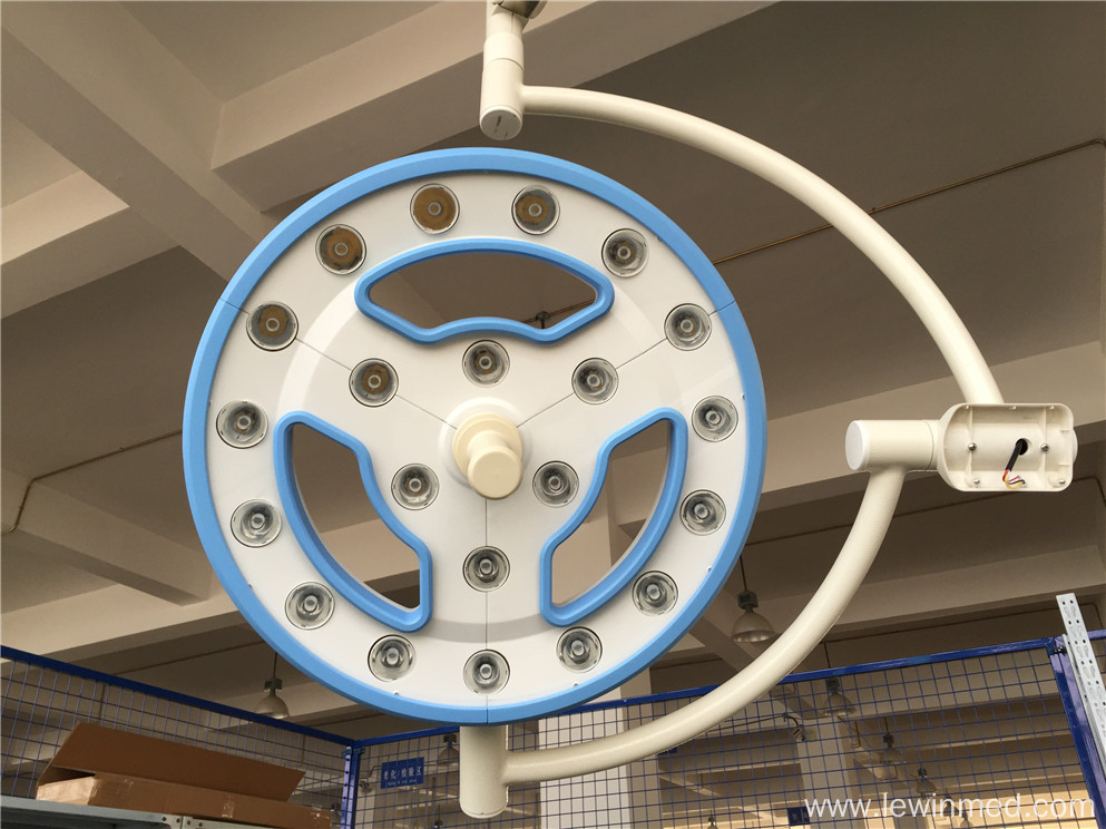 Ceiling and wall mounted led surgical lamps