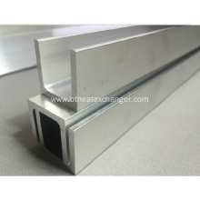 Reliable for Aluminium U-Profile Extruded Tank Aluminum U Profile Channel Various Size supply to Belize Exporter