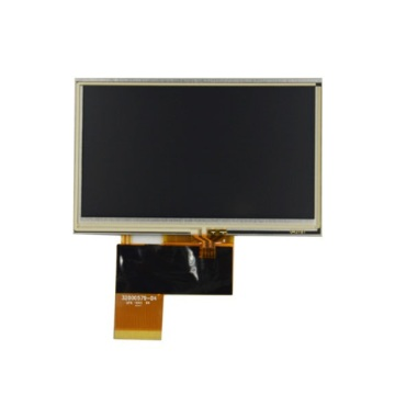 AT043TN24 V.7 Innolux 4.3 inch display with touch screen