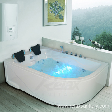 hotel soaking double person spa large bathtub