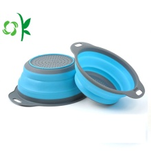 Silicone Fruit Vegetable Basket Kitchen Strainers Container