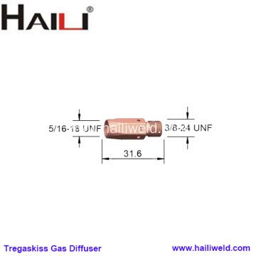 Tregaskiss Heavy Duty Gas Diffuser 404-1