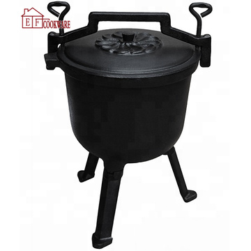 High Pressure Cast Iron Potjie Pot