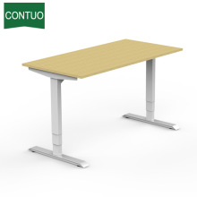 Factory provide nice price for Two Legs Standing Desk Adjustable Height Sit Stand Work Table Frame Hardware export to Chad Factory