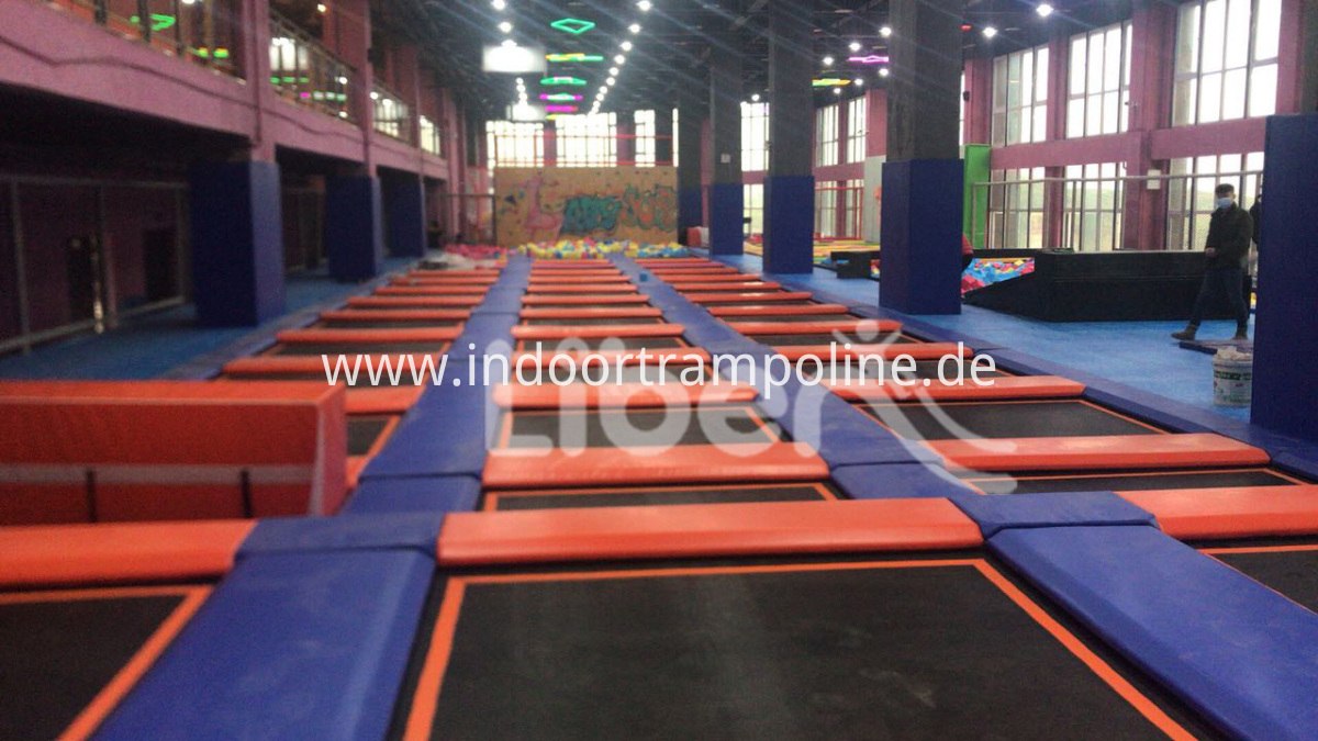 large trampoline company