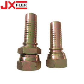 BSP female 60°cone double hexagon fitting