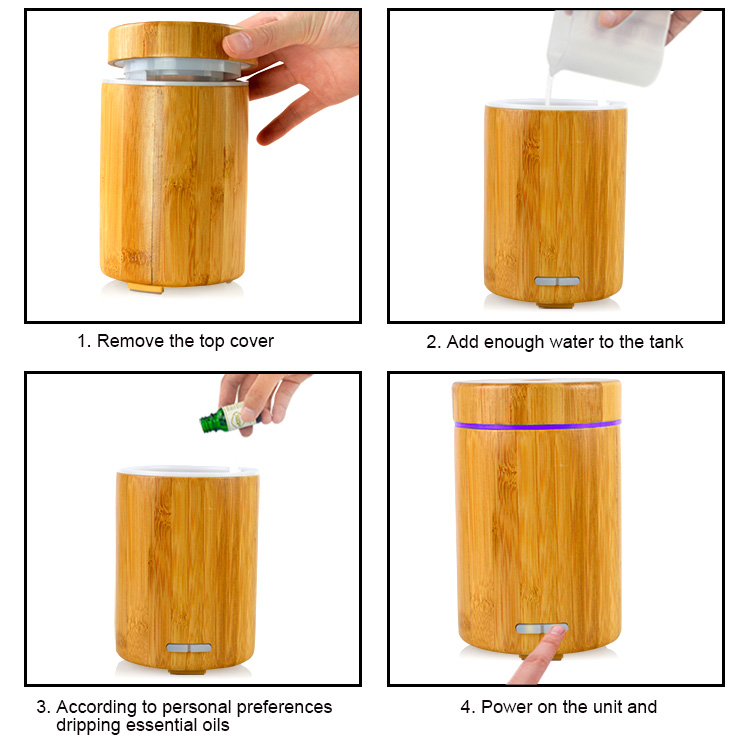 essential oil bamboo diffuser