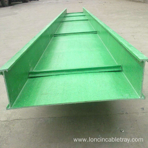 Professional China for Large Span Cable Tray FRP Fiberglass Large Span Cable Tray supply to France Factories