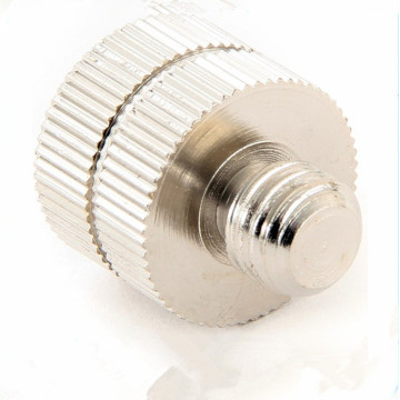 Metal Hardware Plain Finish Knurled Head Thumb Screw